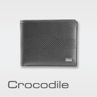 【Crocodile】Punch 系列中翻短夾 0103-07902(義大利真皮皮革)