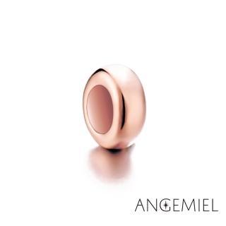 ~Angemiel安婕米~925純銀珠飾 固定珠 簡約 玫瑰金