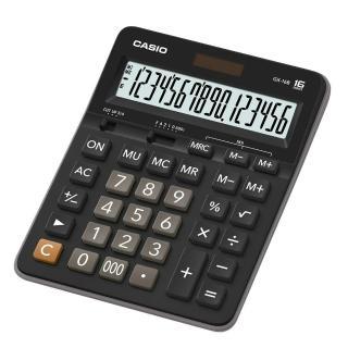 【CASIO卡西歐】16位數雙電源商用計算機(GX-16B)
