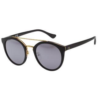 【Calvin Klein】水銀面 太陽眼鏡 CK4339SK(黑色)