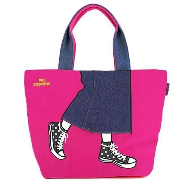 【Mis Zapatos】青春少女帆布鞋包-粉紅(B-6535PK)