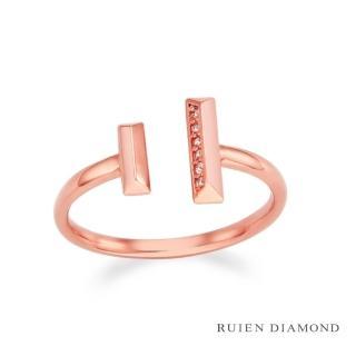 【RUIEN DIAMOND】韓星 金智媛代言款(14K戒指 LR109)
