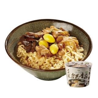 【小廚師】菩提白果香菇麵 206g/桶(珍貴白果與8種蔬食)
