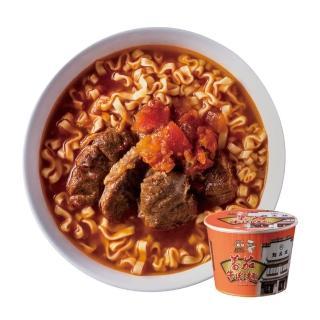 【小廚師】蕃茄牛肉麵 295g*6桶(馳名中外 點水樓監製)