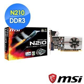 【MSI 微星科技】N210-MD1G/D3 顯示卡