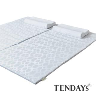 【TENDAYS】穿梭涼感萬用墊6尺加大雙人(可水洗薄墊)