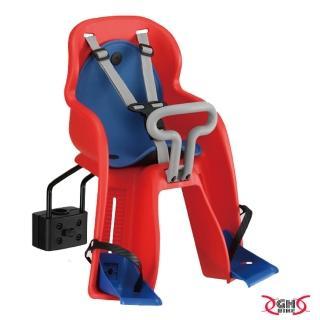 【GH BIKE】自行車前置型快拆兒童安全座椅(紅/藍)