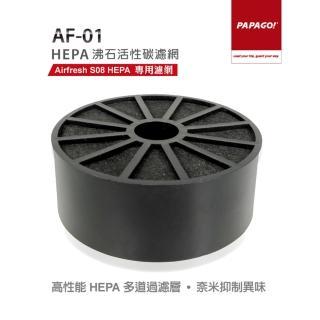 【PAPAGO】AF-01 HEPA沸石活性碳濾網(本產品不含 Airfresh S08 HEPA 主機)