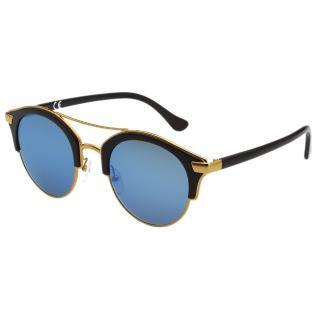 【Calvin Klein (CK)】韓版系列 水銀面 太陽眼鏡 CK1226SK(黑配金)