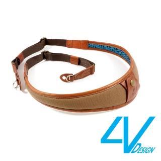 【4V Design】ALA系列相機背帶 LR-CV2223-棕/棕色(L)