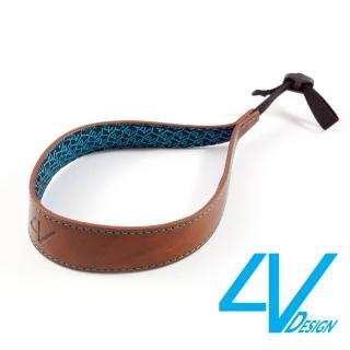【4V Design】ERGO系列相機手環 LS01B-VV2330-棕/青色(L)