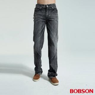 【BOBSON】男款中直筒褲(1732-87)/