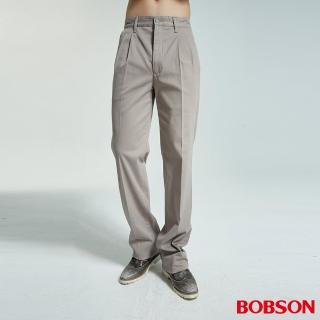 【BOBSON】男款雙摺休閒褲(1733-85)