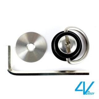 【4V Design】GIRO 扭轉環(黑)-VS2GIRO