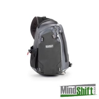 【MindShiftGear 曼德士】PhotoCross 10 橫渡者斜肩背包(灰M)-MS420