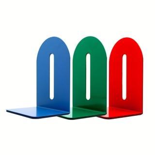 【KW-triO】 8吋鐵製L型書架 02210(200mm/金屬材質堅固耐用/雜誌書籍資料收納/防滑底部)