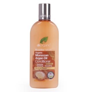 【dr.organic 丹霓珂】摩洛哥堅果髮絲亮澤潤髮乳-265ml(修復毛鱗片)