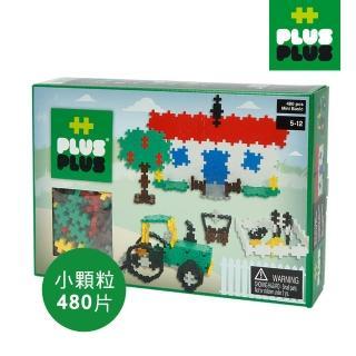 【BabyTiger 虎兒寶】++PLUS-PLUS 加加積木 MINI 小顆粒-彩虹系列 農場 480PCS(盒裝)