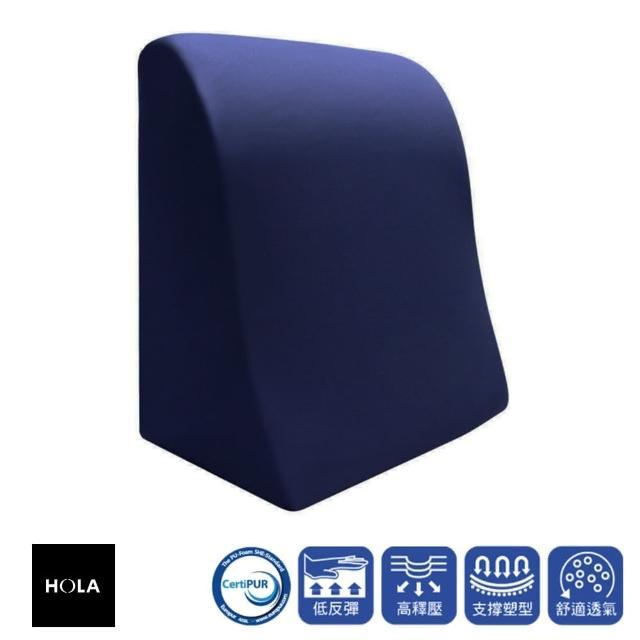 【HOLA】高密度抗菌健康釋壓三角大靠墊/
