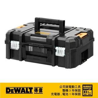 【DEWALT 得偉】變形金剛系列 上開式工具箱(DWST17807)