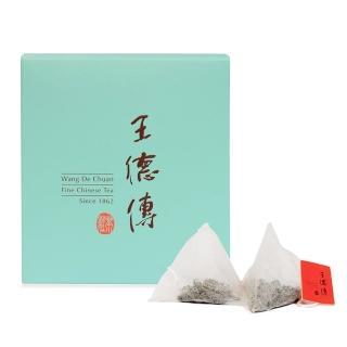 【王德傳】茉莉烏龍三角立體茶包10入