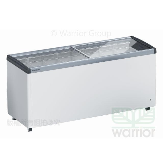 【LIEBHERR 利勃】德國利勃LIEBHERR 6尺3 玻璃推拉冷凍櫃 EFE-5702(玻璃推拉冷凍櫃)