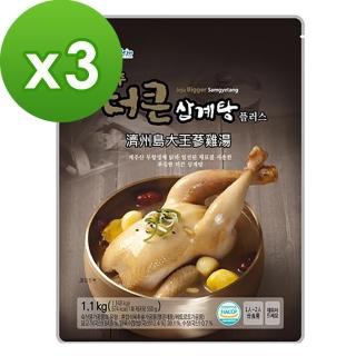 【濟州島】大王蔘雞湯(1.1kg)x3入