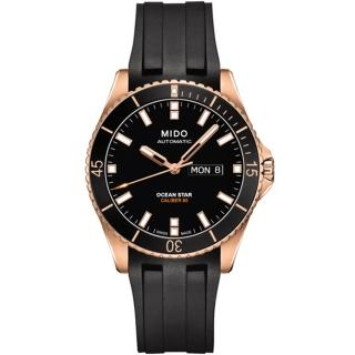 【MIDO 美度】海洋之星 動力儲存80專業200米水鬼潛水機械錶(M0264303705100)