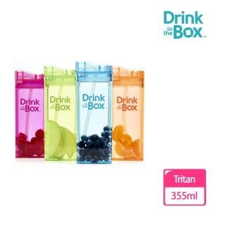 【Drink in the box】Tritan兒童大運動吸管杯4入超值組(多款繽紛設計)