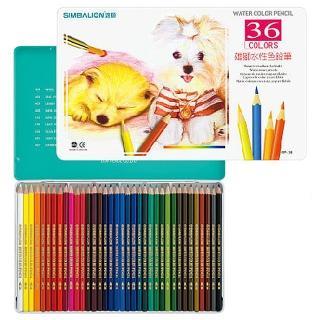 【雄獅文具】WP-36 36色水性色鉛筆