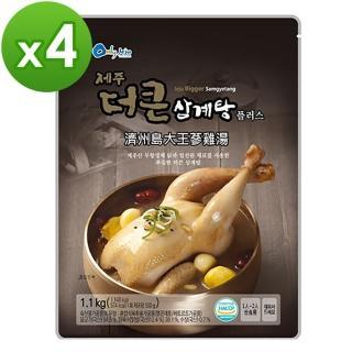~濟州島~大王蔘雞湯 1.1kg x4入