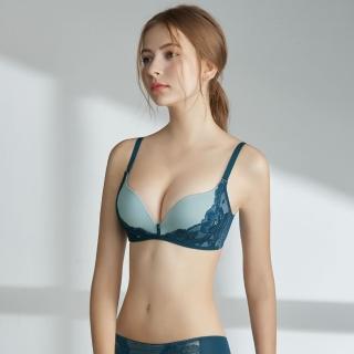 【瑪登瑪朵】Soft Up 無鋼圈 內衣  B-E罩杯(簡約藍)