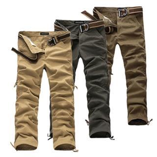 【美國熊】美式休閒 水洗面料 六袋款工作褲(AOK-54)
