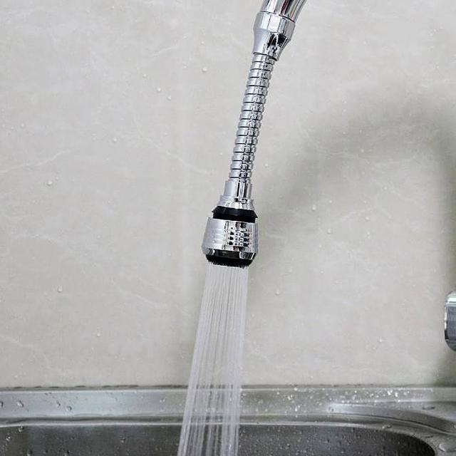 兩段式增壓軟管水龍頭起泡器(水龍頭 濾水 兩段 廚房 省 衛浴 浴室)