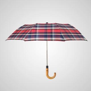 【boy】抗風12級高碳鋼半自動兩折紳士傘(商務傘 抗UV傘 抗風傘 紳士傘 快乾傘 自動傘)