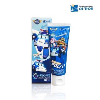 【POLI 波力】兒童牙膏葡萄口味-3歲以上(80g)