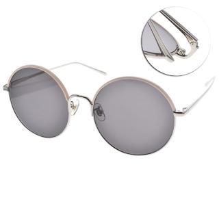 【Stephane+Christian 太陽眼鏡】韓系潮流圓框眼鏡(粉銀#CANTABILE PKSV)