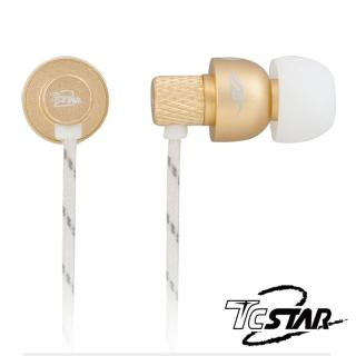 【T.C.STAR】HI-FI級入耳式耳機麥克風(TCE5010GD)
