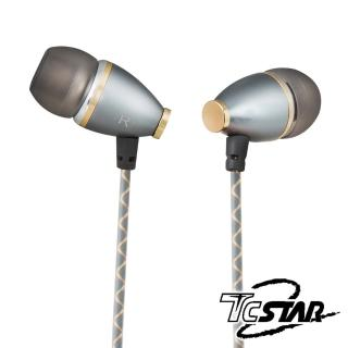 【T.C.STAR】古典樂迷有線入耳式耳機麥克風/灰(TCE5130CG)