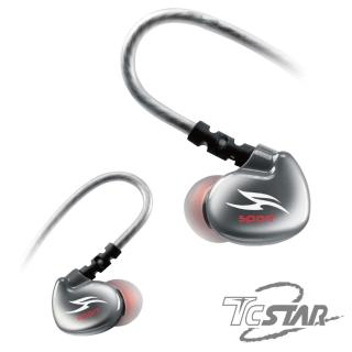 【T.C.STAR】運動防水後掛式藍牙耳麥/黑色(TCE8000BK)