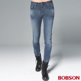 【BOBSON】男款1971日本進口黑標彈性褲(BSH016-WD)
