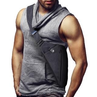 【NIID_FINO I】型男超薄貼身防盜收納槍包(總代理公司貨)