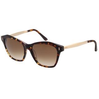 【TOD'S】貓眼造型 太陽眼鏡(琥珀色)