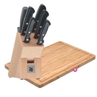 【德國WMF】Class Line系列刀具六件套組(附座)