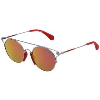 【Calvin Klein (CK)】水銀面太陽眼鏡CKJ167S-020(槍色)