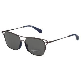 【Calvin Klein (CK)】造型 太陽眼鏡CKJ166S-008(槍色)