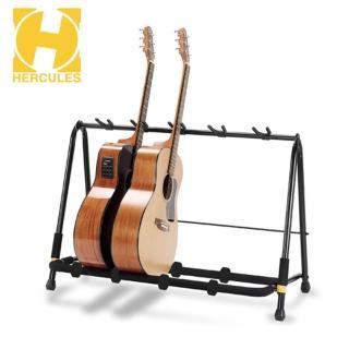 【Hercules 海克力斯】GS525B 五支吉他側放架  自由調整間距 擺放最多五把吉