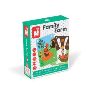 【法國Janod】趣味桌遊-農場家族