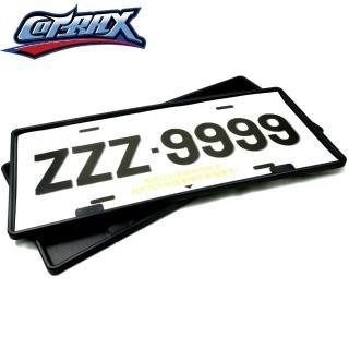 【Cotrax】汽車專用七碼牌照框(汽車大牌框 車牌框)
