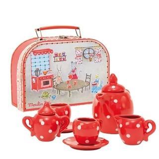 【Moulin roty】小小茶杯組